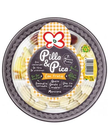 PILLA & PICA CON FRUTA  x 8