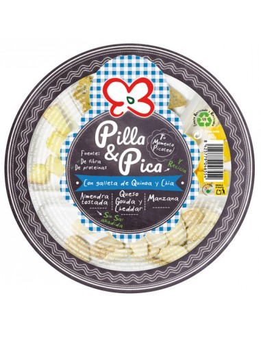 PILLA & PICA CON QUINOA Y CHIA. x 8