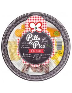 PILLA & PICA CON FUET x 5